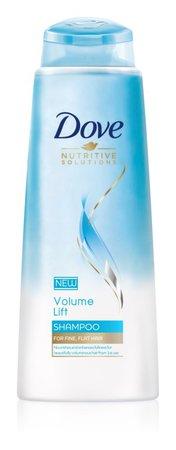 Šampon pro objem jemných vlasů, Dove Volume Lift, 69 Kč (250 ml), koupíte v síti drogérií