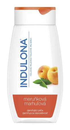 Zjemňující tělové mléko s meruňkou, Indulona, 99 Kč (250 ml)