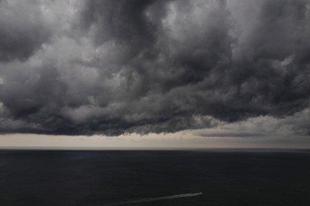 Bouřky v Evropě: Pobřeží francouzského Nice