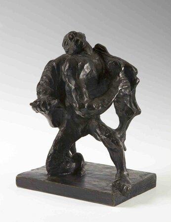 Emil Filla: Theseus nesoucí krétského býka, 1937