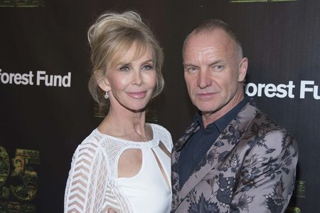 Sting a Trudie Styler
