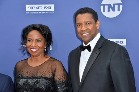 Denzel Washington a Pauletta Washington