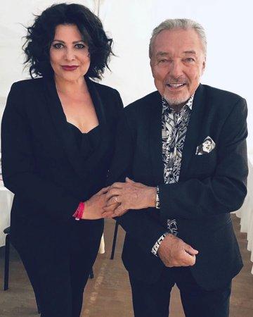 Ilona Csáková a Karel Gott