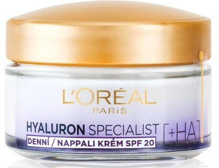 Vyplňující hydratační krém Hyaluron Specialist, L'Oréal Paris, 247 Kč (50 ml)