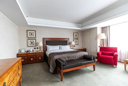 V této posteli stojí jedna noc 4 tisíc eur.