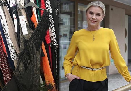 Be Charity bazar: Leona Machálková věnovala charitě šaty v původní hodnotě 10 tisíc korun