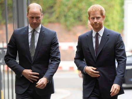 Princ Harry princ William