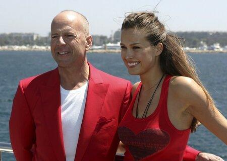 Bruce Willis s Petrou Němcovou