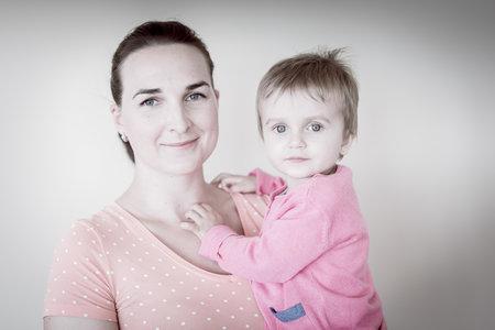 Paní Kristýna s Julinkou.