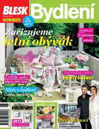 Titulní strana červnového vydání časopisu Blesk Bydlení