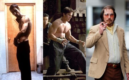 Christian Bale v každé roli vypadá úplně jinak