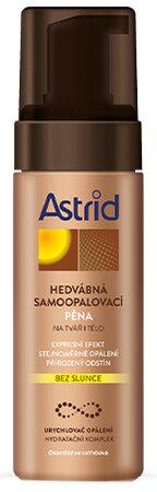 Hedvábná samoopalovací pěna, Astrid, 129 Kč (150 ml)