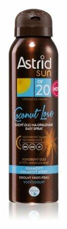 Suchý olej na opalování Coconut Love, Astrid Sun, 199 Kč (150 ml)