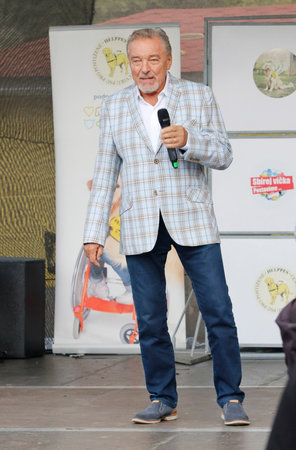Karel Gott v roce 2016