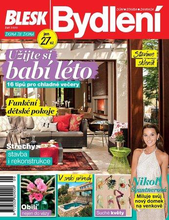 Titulní strana Blesk Bydlení na měsíc září 2020
