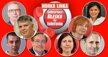 V úterý 3. 11. budou zdarma odpovídat na dotazy volajících odborníci na telefonu Blesku.