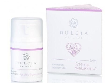 Krém proti vráskám s kyselinou hyaluronovou a Q10, Dulcia, 540 Kč (50 ml)