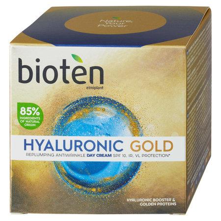 Vyplňující denní krém Hyaluronic Gold, Bioten, 219 Kč (50 ml)