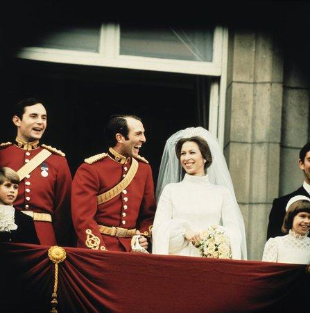Princezna Anna a Mark Phillips