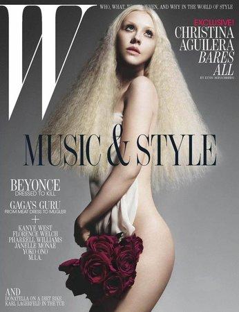 Christina Aguilera působí v magazínu jak víla z pohádkové říše