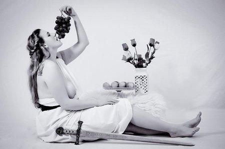 Lucie Tenková (23) by určitě potěšila fotografa Jana Saudky, který miluje ženy plných tvarů...