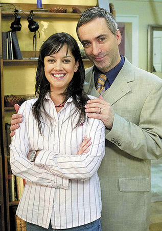 Tereza Brodská a Petr Vacek v roli manželů Jordánových.