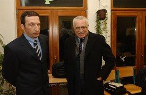 Klaus ml. promluvil o svém handicapu, hádkách s otcem a strachu z čítanek