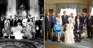 Ledová královna Alžběta s Georgem roztála! Když fotili Williama, všichni se mračili!