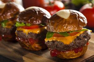 Recepty na božské domácí hamburgerové bulky