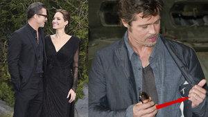 Angelina Jolie a Brad Pitt se tajně vzali ve Francii. Po devíti letech vztahu