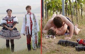 Ve Vinařích to mezi herci jiskří. Sex uprostřed vinohradu!