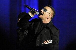 Bono Vox spadl z kola a má 5 zlomenin! 3 kovové pláty a 18 šroubů