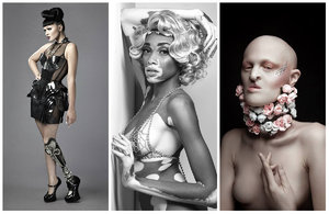 Největší exoti modelingu: Albín, ale i zpěvačka bez nohy!