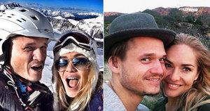 Selfie mánie Kuchařové a Brzobohatého: Fotí se všude, aby všichni záviděli?