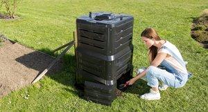Pořiďte si kompostér: Zpracujete až dvě třetiny odpadů z kuchyně