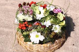 Vyrobte si květinové aranžmá v duchu babího léta. Gondíci poradí, jak na to