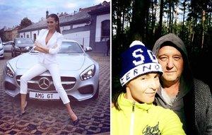 Týden na síti: Kde má nový byt Lucie Bílá a kam si vyšla nenalíčená Iva Kubelková?