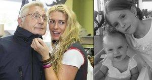 Šťastná maminka Olga Menzelová: Poprvé ukázala svá sluníčka