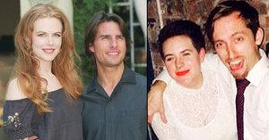 Sektářská svatba dcery Nicole Kidman a Toma Cruise: Nevěsta se vdávala v černých punčocháčích!