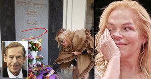 Tajemství bývalé první dámy: Havel určil Dáše místo v hrobě! A to není vše…
