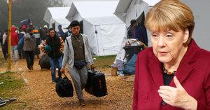 Merkelová chce přitáhnout uprchlíkům kohoutky: Sníží jim podporu