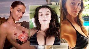 Po odchodu z Top Staru se ukazuje jinak: Kubelková fanouškům posílá fotky svého poprsí!