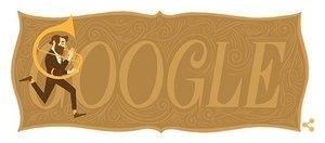 Vynálezce saxofonu Adolphe Sax se narodil před 201 lety, Google mu věnoval Doodle