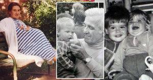 Retro výzvě na internetu propadli i slavní: Kdo už ukázal tajné fotky z mládí?