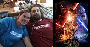 Viděl Star Wars a zemřel. Fanoušek podlehl rakovině poté, co mu filmaři splnili poslední přání