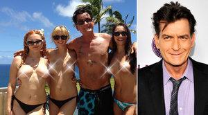 Jak je na tom HIV pozitivní Charlie Sheen? Celé tělo má pokryté náplastmi a obvazy, říká jeho známý