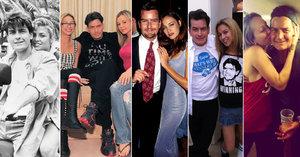 Slavné herečky, pornoherečky nebo modelky spodního prádla: Kdo všechno prošel postelí Charlieho Sheena?