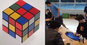 Teenager složil Rubikovu kostku za 4,9 vteřin, je z něj světový rekordman