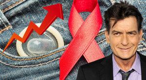 HIV pozitivní Charlie Sheen je jen jedním z mnoha. Počty rostou i kvůli běžencům