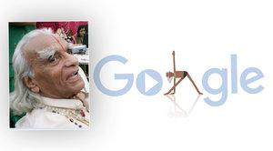 B. K. S. Iyengar by oslavil 97 let! Google Doodlem připomíná narození otce moderní jógy